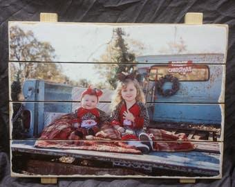 Custom photo pallets