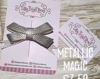Metallic magic bow