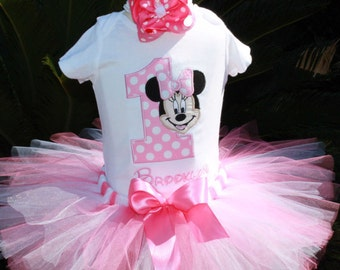 Minnie Mouse Birthday tutu