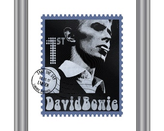 David Bowie stamp 'Hall of Fame'