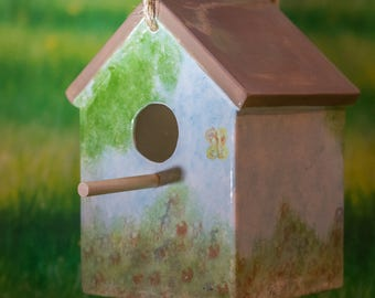 Large Square Birdhouse