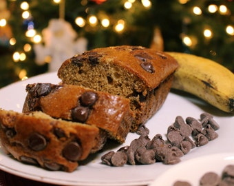 Chocolate Chip Banana Bread - Loaf