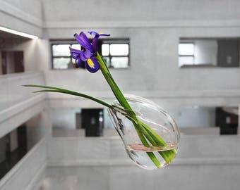 Drop - designer glass vase LIMITED EDITION!
