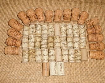 Lot of 50 Used Wine & Champagne Corks