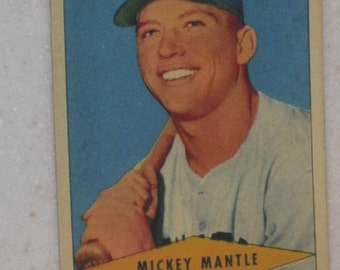 1954 Red Heart Mickey Mantle