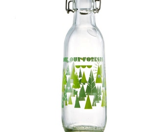 US Made Reusable Glass Water Bottle