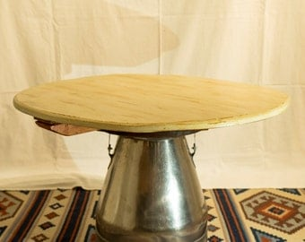 Circular Upcycled Occasional Table