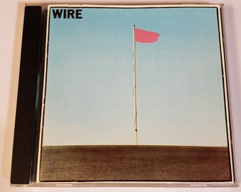 Wire-Pink Flag used cd