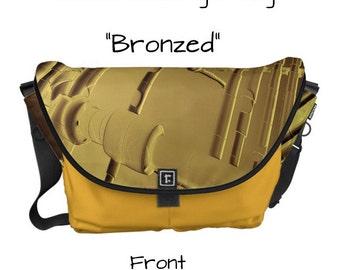 "Messenger Bag - ""Bronzed"" - Great gift item!"