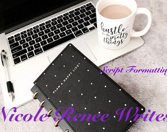 Script Formatting - Screenwriter - Editing - Revising