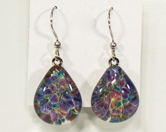 Giverny tear earrings
