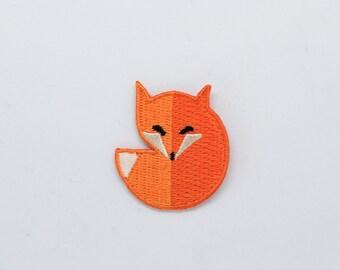 Fox iron on patch