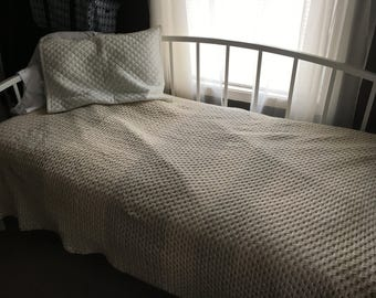 Granny Stripe Afghan blanket