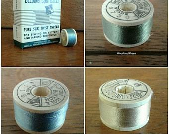 Vintage Belding Corticelli Silk Twist Thread