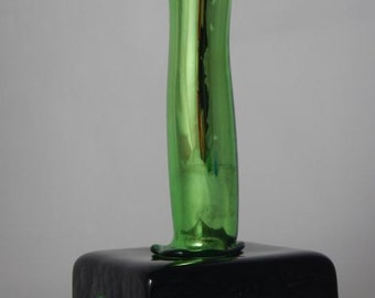 Condom in Murano glass green mirror (muranosexglass.com collection)