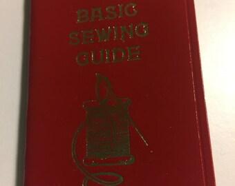 Vintage Hallmark Pocket Sewing Guide