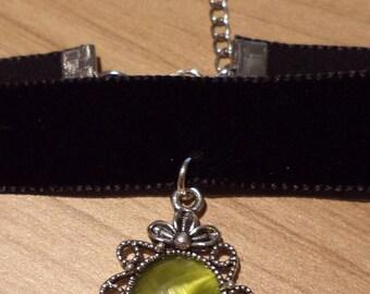 Goiter tape green stone
