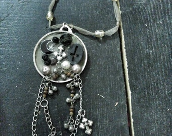Salvage found Object Necklace