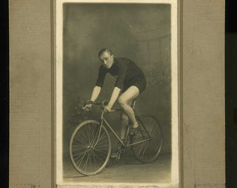 Early Cycling Photograph - c1910 - Reduced Price again