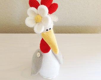 Crochet Pattern Chicken Sweet Daisy