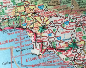 Customized Road Trip Map