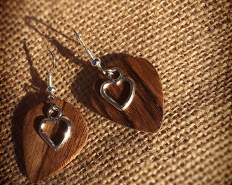 Ovangkol earrings