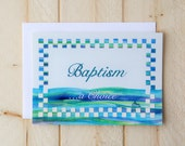LDS Baptism Card - Baptism Choice