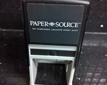 Paper Source Stamp Machine Ink Pad And Base
