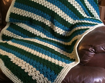 Green & Blue Blanket