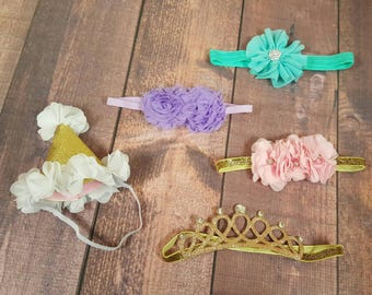 Headbands, Baby Accessories, Infant Bows, Specialty Hair Bands, Tiaras, Birthday Hat