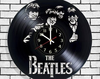 Wall clock the beatles, clock on the wall