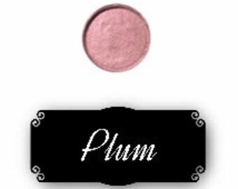 Pressed mineral eyeshadow - Plum
