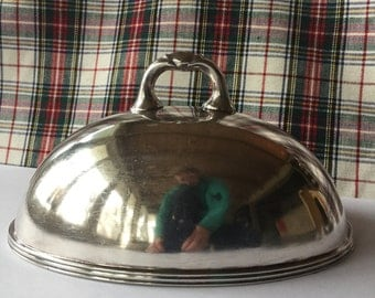 Vintage Hotel Silver Collectible Cloche