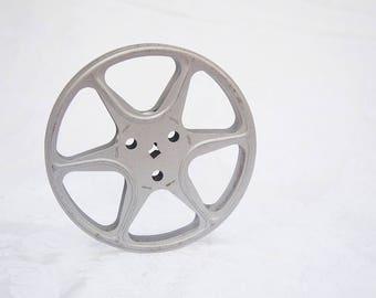 Vintage Film Reel, Metal