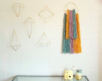 Double Hoop Wall Hanging