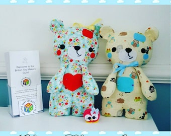 Buddy Bears - Cuddly Bears with a Squeeky tummy - personalised, bears, teddy, soft toy, newborn gifts
