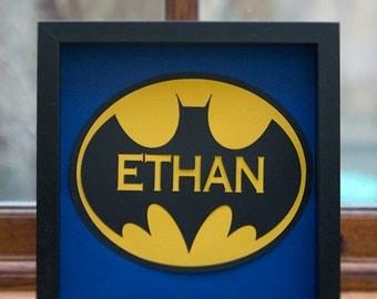 Personalised super hero- batman