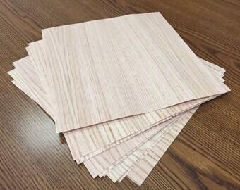 Wood Veneer - 10 Pack