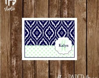 Pattern Notecard