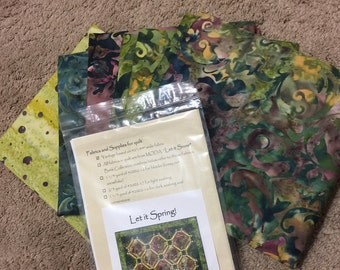 Let it Spring Kit Pattern by Edyta Sitar
