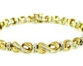 Gold & Diamond Infinity B...