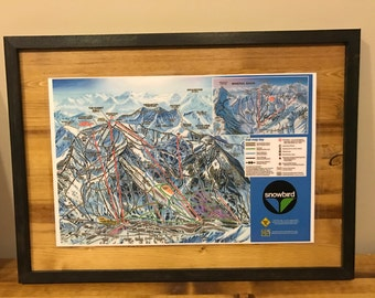 Snowbird Ski Resort Trail Map