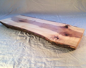 Cheese board / Cutting board / Serving Board / Centerpiece, large, maple, live edge