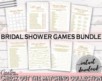 Games Bridal Shower Games Pink And Gold Bridal Shower Games Bridal Shower Pink And Gold Games Pink Gold - XZCNH