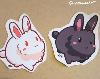 Bunny Stickers - 2 pack