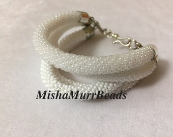 "White Bracelet ""Tenderness"""