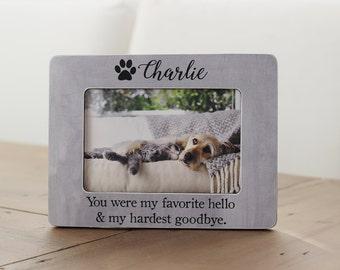 Pet Loss Frame, Dog Frame, Pet Loss Gift, Sympathy, Loss Of Pet Frame, Loss Of Cat Gift, Pet Picture Frame, Gift For Pet Loss