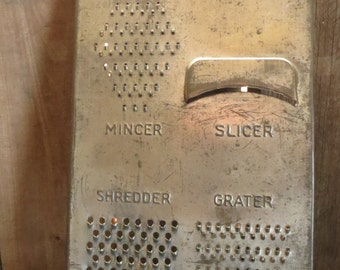 Streamline Grater, Slicer, Shredder, Vintage Kitchen Tool