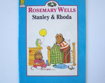 Stanley and Rhoda by Rosemary Wells - children's book - Siblings, Brothers and Sisters