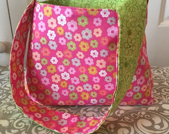 Green/Pink Easter Purse